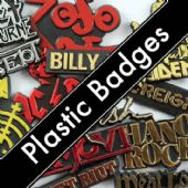 PLASTIC BADGES
